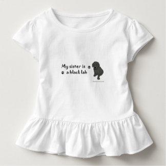 Camiseta Infantil laboratório preto
