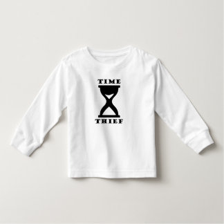 Camiseta Infantil Ladrão do tempo