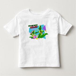 Camiseta Infantil Lagarto AP de BOGP: T do Regular da criança/bebê