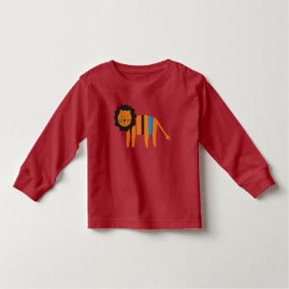 Camiseta Infantil Leão,