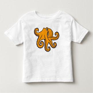 Camiseta Infantil Leggy o polvo caçoa o t-shirt