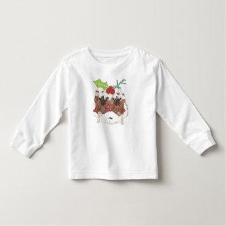 Camiseta Infantil Ligação em ponte da Senhora Pudim Nenhum Fundo