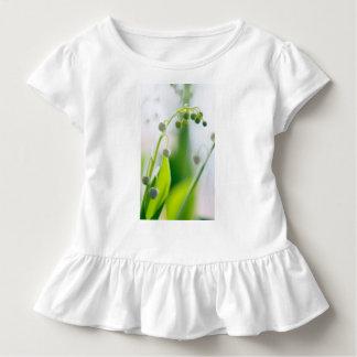 Camiseta Infantil Lírio da repetição da flor do vale