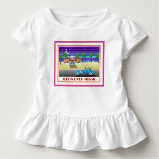 Camiseta Infantil Lua sobre Miami