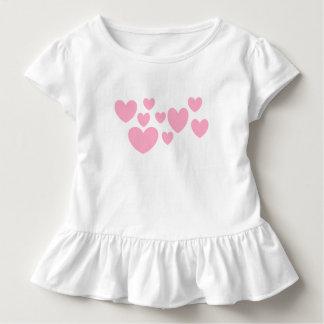 Camiseta Infantil ❤️ Luv de Luv U mim T do plissado da criança pelo