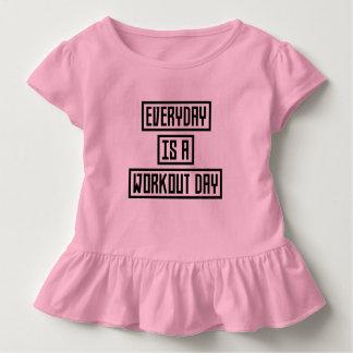 Camiseta Infantil Malhação Z2y22 do dia do exercício