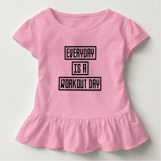 Camiseta Infantil Malhação Zx41w do dia do exercício