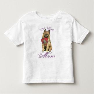 Camiseta Infantil Mamã do coração de Laekenois