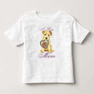 Camiseta Infantil Mamã do coração de Norfolk