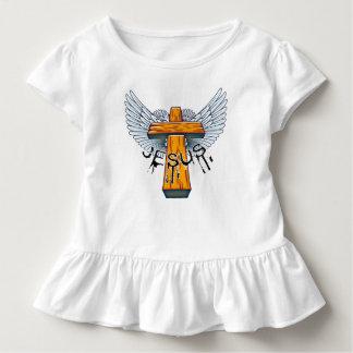 Camiseta Infantil Marque 15-17 uma coroa de espinhos na cabeça