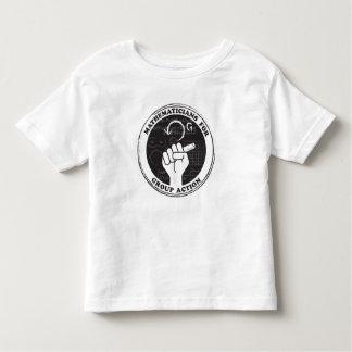 Camiseta Infantil Matemáticos para o t-shirt da ação de grupo -