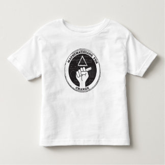 Camiseta Infantil Matemáticos para o t-shirt da mudança - criança