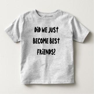 Camiseta Infantil Melhores amigos