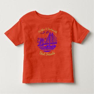 Camiseta Infantil Melhores amigos de Nova Escócia Halifax Dartmouth