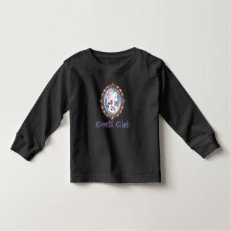 Camiseta Infantil Menina do gótico