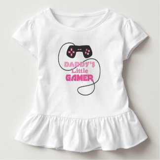 Camiseta Infantil Menina do jogo de vídeo
