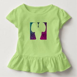 Camiseta Infantil Menina do sopro da beleza do Afro