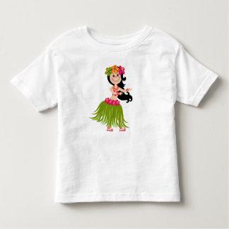 Camiseta Infantil Menina havaiana