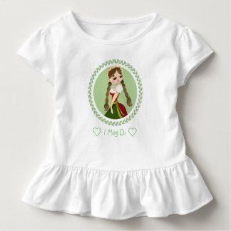 Camiseta Infantil Menina no Dirndl