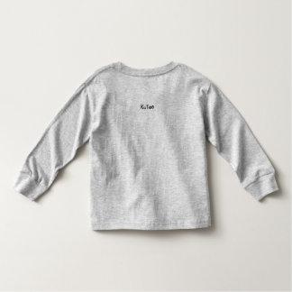 Camiseta Infantil Menino de KuTee no cinza