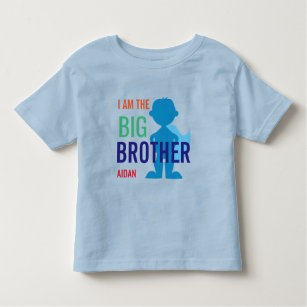 Personalizadas Super-herói Sidekick irmãozão T-shirt Meninos Crianças Máscara Camiseta Top