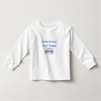 Camiseta Infantil Meu aniversário