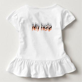 Camiseta Infantil Meu cometh da ajuda do SENHOR