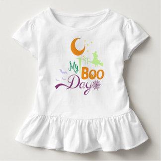 Camiseta Infantil Meu ø bot da Web   de aranha da bruxa do gato dos