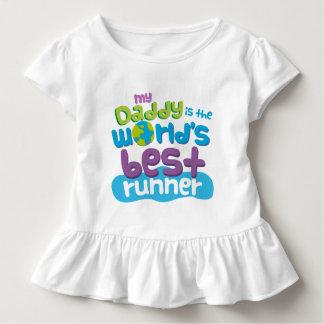 Camiseta Infantil Meu pai é t-shirt do corredor dos mundos o melhor