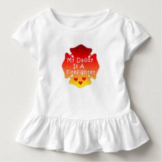 Camiseta Infantil Meu pai é um sapador-bombeiro