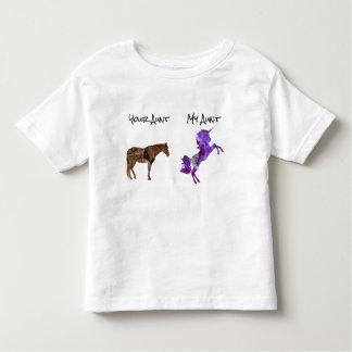 Camiseta Infantil Meu sobrinho da sobrinha do humor da tia Seu