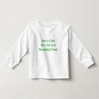 Camiseta Infantil Microplaqueta fora de todo o t-shirt da criança do