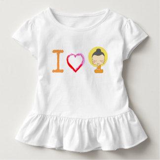 Camiseta Infantil Mim coração Buddha