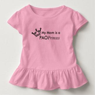 Camiseta Infantil Minha mamã é uma princesa de PAO