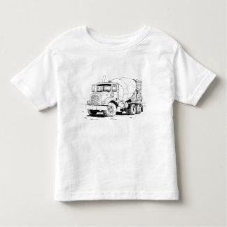 Camiseta Infantil Misturador de cimento