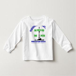 Camiseta Infantil MIÚDO de OilIELD o remendo