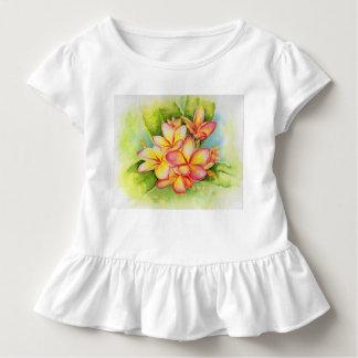 Camiseta Infantil Miúdos do plumeria de Malorie Arisumi