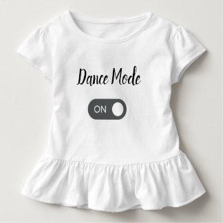 Camiseta Infantil Modo da dança SOBRE