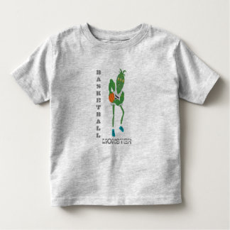 Camiseta Infantil monstro do basquetebol
