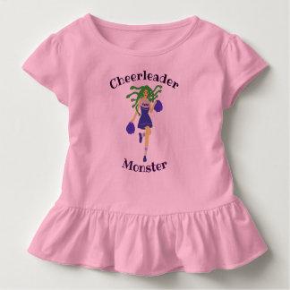Camiseta Infantil monstro do cheerleader