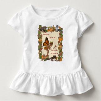 Camiseta Infantil Mudança das estações