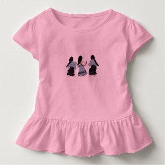 Camiseta Infantil Mulheres de todas as possibilidades para meninas