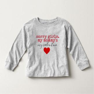 Camiseta Infantil namorados das mamães