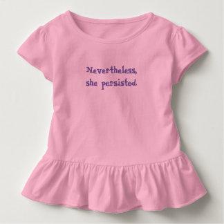 Camiseta Infantil Não obstante, persistiu. T-shirt da