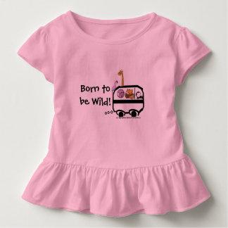 Camiseta Infantil Nascer a ser selvagem