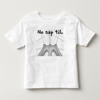 Camiseta Infantil Nenhuma sesta 'até… Tshirt da criança