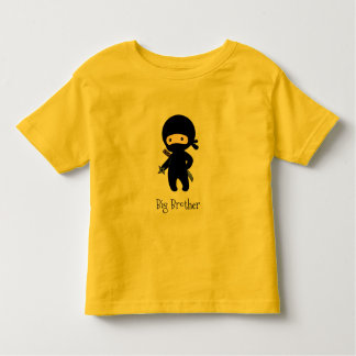 Camiseta Infantil Ninja minúsculo que guardara a estrela de jogo -
