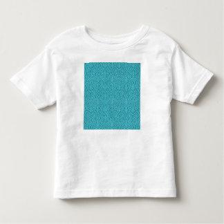 Camiseta Infantil nouveau da arte, cerceta, verde, art deco,