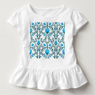 Camiseta Infantil nouveau da arte, vintage, floral, époque do belle,