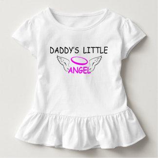 Camiseta Infantil O anjo pequeno do pai